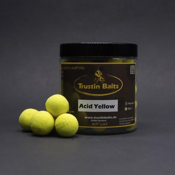 Acid Yellow Pop Up's